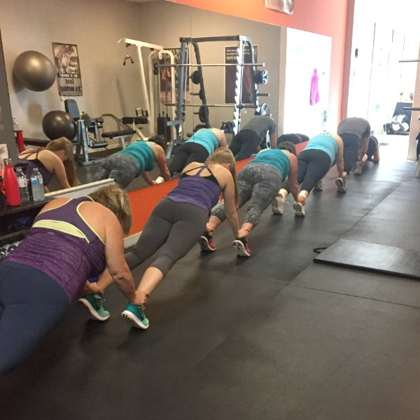 Fitness Frenzy Plank Challenge